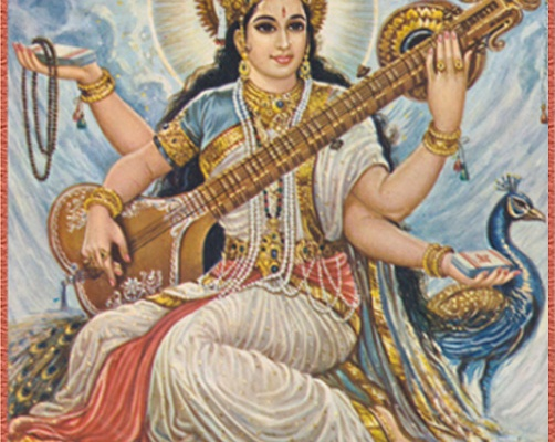 Saraswati – the mother of mantra, creativity, civilisation, wisdom and knowledge