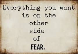 Entrapment of fear and why we shouldexhale